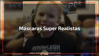 Mascaras Super Realistas Que São Assustadoras, Olha Só Essa Carinha!