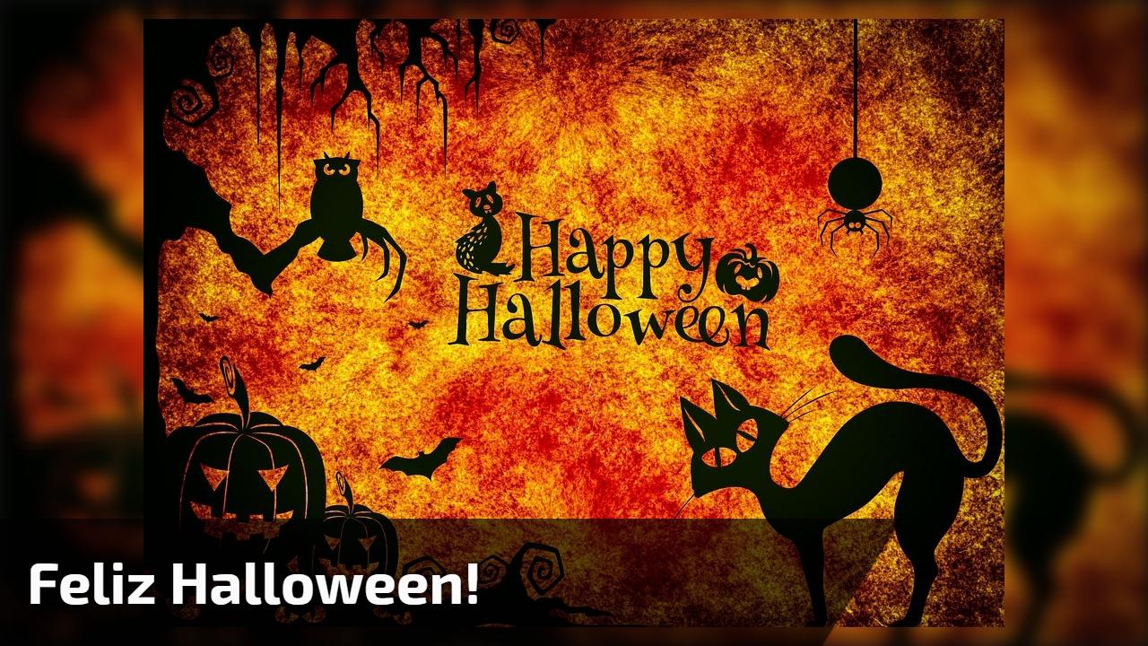 Mensagem de Feliz Halloween para amigos do Facebook que não falam comigo!!!