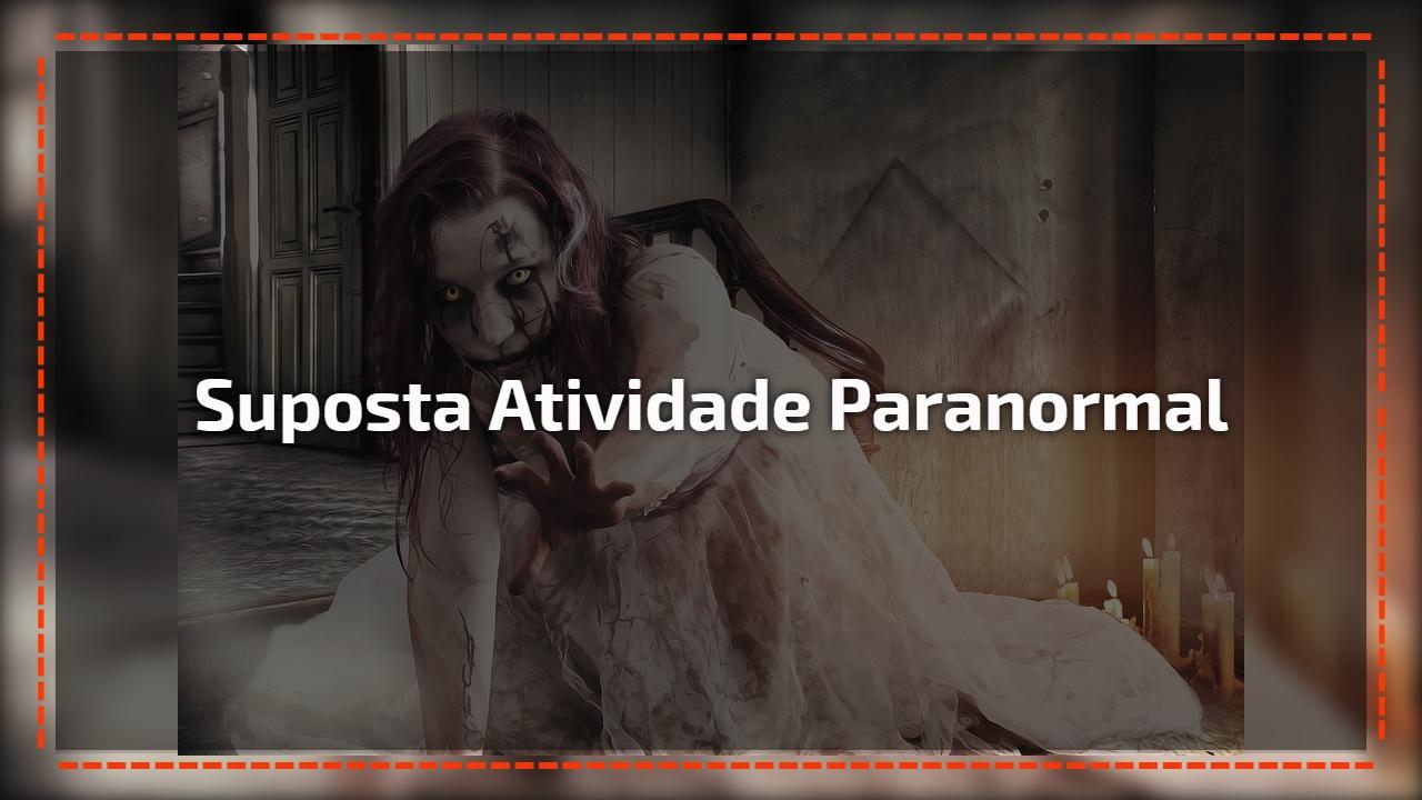 Neste vídeo você vai ver uma suposta atividade paranormal, confira!