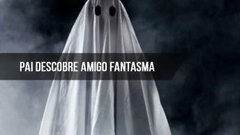 Pai Descobre Amigo Fantasma De Sua Filha, É Assustador Confira!