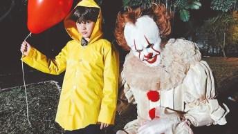 Pegadinha De Terror Baseada No Filme 'It: A Coisa', Quem Tem Medo De Palhaço?