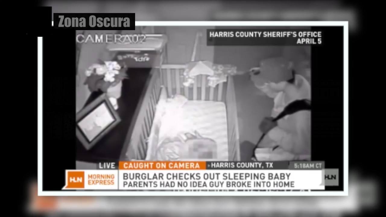 Vídeo aterrorizante com imagens de câmeras de segurança que não tem explicação