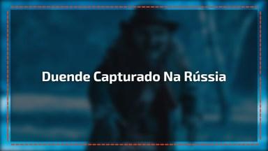 Vídeo Com Duende Que Foi Capturado Na Russia, Fica A Seu Critério Acreditar!