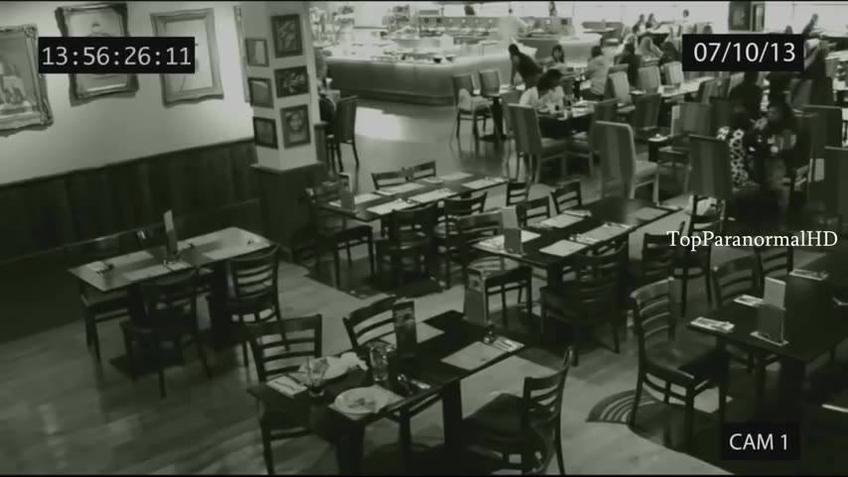 Vídeo com fantasmas que foram capturados em filmagens