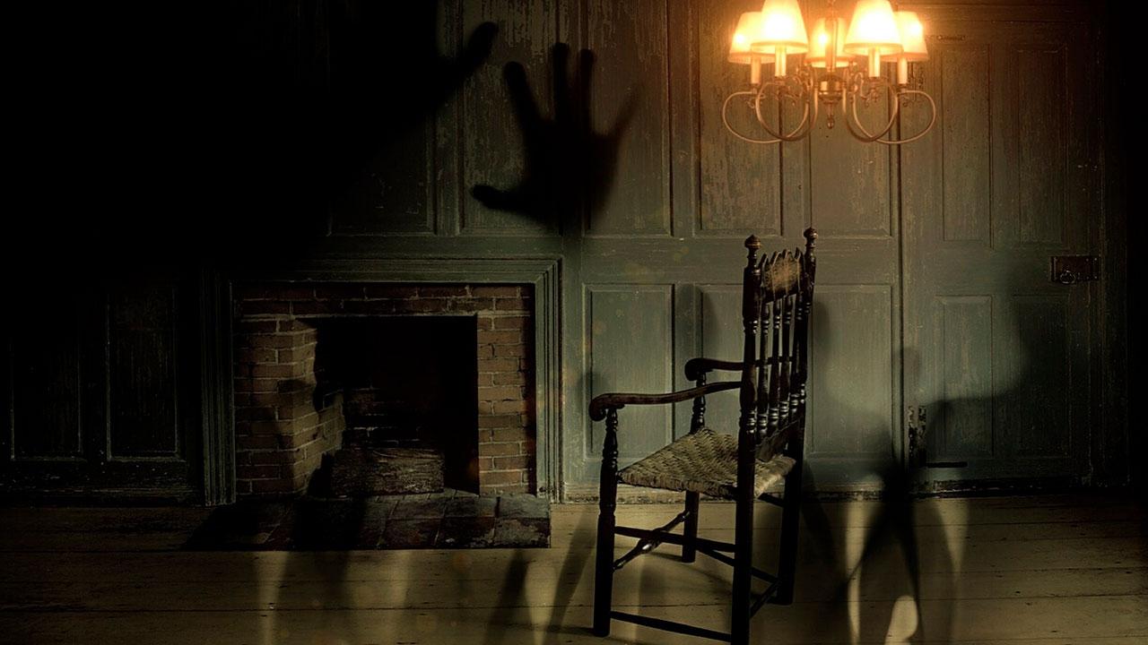 Vídeo com fotos assustadoras de fantasma