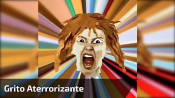 Vídeo Com Grito Aterrorizante, Se Você Tiver Medo Do Sobre Natural Não Assista!