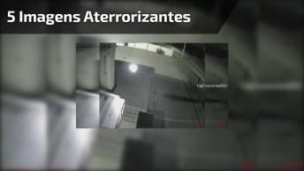 Vídeo Com Imagens Aterrorizantes Gravadas Por Câmeras, É Aterrorizante!