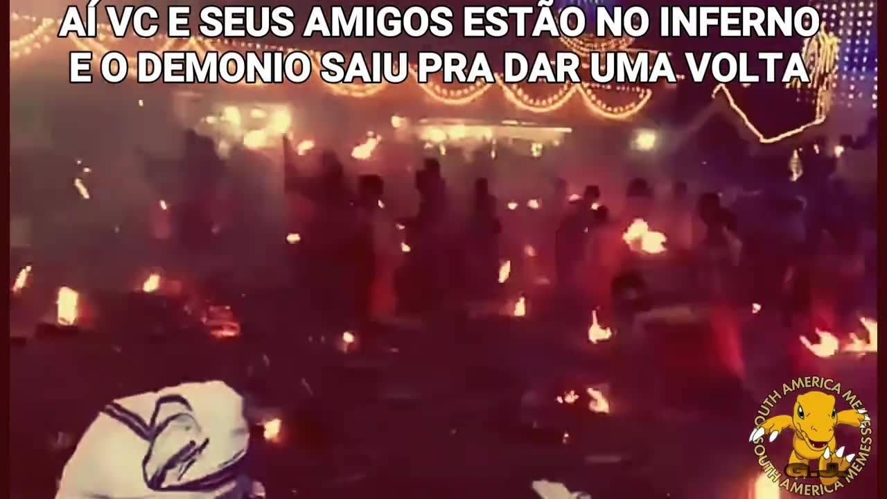 Vídeo com imagens diretamente tiradas do inferno