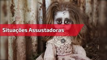 Vídeo Com Situações Assustadoras Gravadas Por Câmeras, Confira!