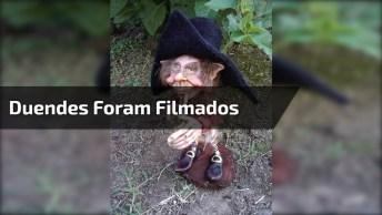 Vídeo Com Várias Flagrantes De Duendes Que Foram Filmados, É Assustador!