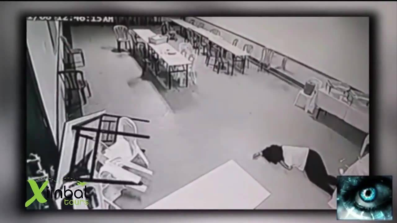 Vídeo com várias situações inexplicáveis gravadas por câmera de segurança