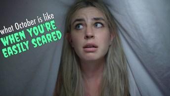 Vídeo De Feliz Halloween! Cuidado O Halloween Chegou, Tudo É Assustador!