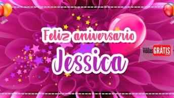 Feliz Aniversário Jéssica - Mensagem De Aniversário Personalizada!