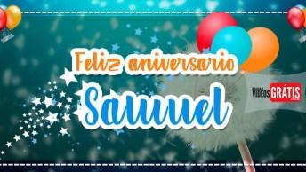 Feliz Aniversário Samuel - Vídeo De Aniversário Para Samuel, Baixe Grátis!