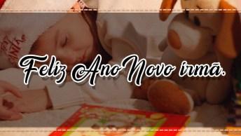 Feliz Ano Novo Para Irmã. Que Deus Abençoe Sua Casa E Sua Família!