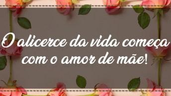 Feliz Dia Das Mães Gospel - O Alicerce Da Vida Começa Com O Amor De Mãe!