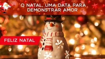 Feliz Natal 2017 Para Amigos Do Facebook, Um Dia Abençoado Para Todos!