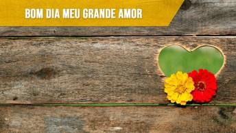 Bom Dia Amor, Ficaremos Juntos Até A Eternidade!
