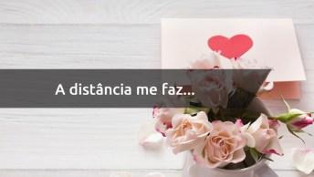 Frase De Amor A Distância - Nenhuma Distancia É Capaz De Acabar Com Um Amor!