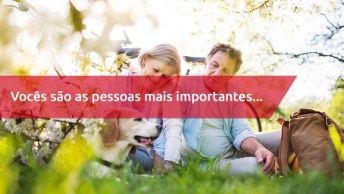 Frase De Amor Aos Pais - Vocês São As Pessoas Mais Importantes Da Minha Vida!