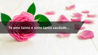 Frase De Amor Saudade - Te Amo Tanto E Sinto Tanta Saudade. . .