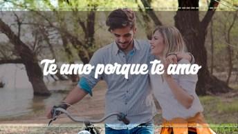 Frase De Amor - Te Amo Porque Te Amo E Isso É Tudo, Envie Para Seu Amor!