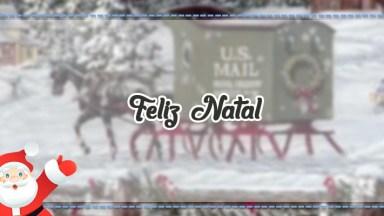 Imagem De Natal Que Se Move Para Compartilhar No Facebook!