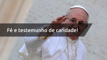 Intenções De Papa Francisco Para O Mês De Setembro, Fé E Testemunho De Caridade!