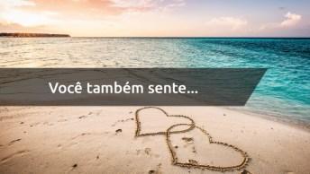 Mensagem De Amor Na Praia - Envie Para A Pessoa Através Do Whatsapp!
