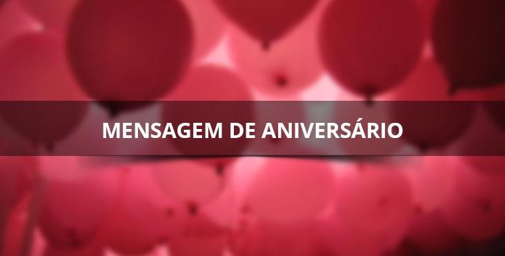 Mensagem de aniversário para enviar no Facebook e Whatsapp