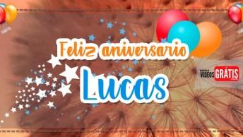 Mensagem De Aniversário Com Nome Grátis - Parabéns Lucas Por Esse Dia Especial!