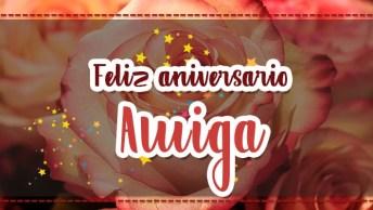 Mensagem De Aniversario Para Amiga - Felicidades Nesse Novo Ano De Vida!