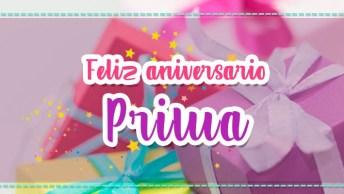 Mensagem De Aniversário Para Prima, Lhe Desejo Tudo De Bom Na Vida!