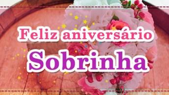 Mensagem De Aniversário Para Sobrinha! Te Desejo Toda Sorte Do Mundo!