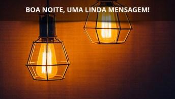 Mensagem De Boa Noite Quarta-Feira, Que Deus Abençoe Seu Dia!
