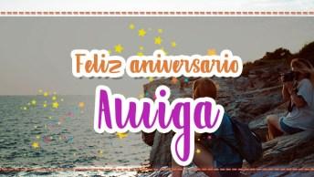 Mensagem De Feliz Aniversário Para Amiga Querida! Eu Lhe Desejo Toda Felicidade!