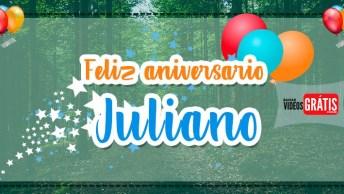 Mensagem De Feliz Aniversário Para Juliano. Parabéns Juliano Pelo Seu Dia!