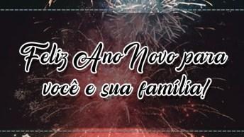 Mensagem De Feliz Ano Novo Para Amigo! Feliz Ano Novo Para Você E Sua Família!