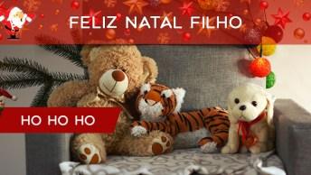 Mensagem De Feliz Natal Para Filho! Que Seu Natal Seja Cheio De Paz!