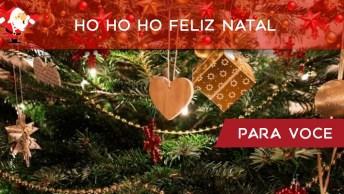 Mensagem De Natal A Época Mágica Do Ano, Cheia De Muito Amor E Alegria!