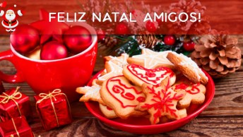 Mensagem De Natal Amigos E Amigas, Deus Abençoe A Todos Neste Dia Especial!