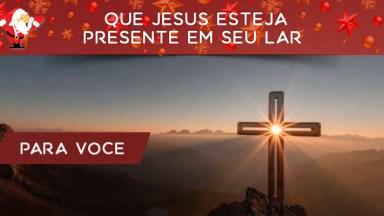 Mensagem De Natal Cristão! Que Jesus Esteja Presente Em Seu Lar!