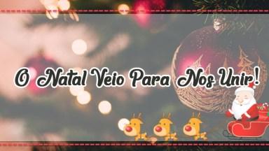 Mensagem De Natal De Chico Xavier - O Natal Veio Para Nos Unir!