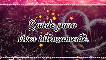 Mensagem De Natal E Ano Novo Lindas. Desejo Todos Sentimentos Positivos A Você!