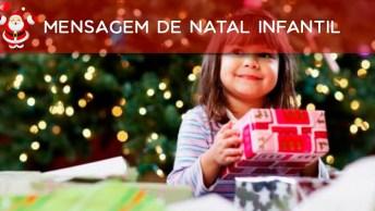 Mensagem De Natal Infantil, O Natal Tem Um Significado De Amor Para As Crianças!