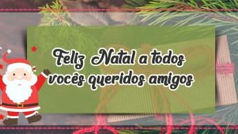 Mensagem De Natal Para Amigos. Que O Amor Esteja Presente No Coração De Todos!
