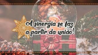 Mensagem De Natal Para Funcionários - A Sinergia Se Faz A Partir Da União!
