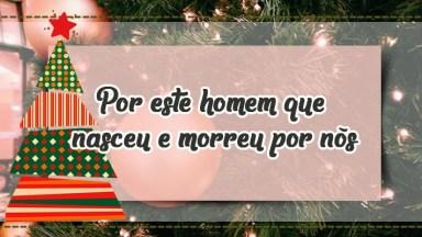 Mensagem De Natal Para Os Pais - Luzes Felizes, Coloridas A Piscar!