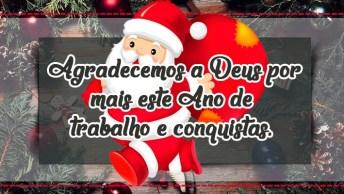 Mensagem De Natal Trabalho - Desejamos Um Feliz Natal E Um Próspero Ano Novo!