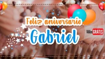 Mensagem Personalizada De Aniversário Para Gabriel, É Totalmente Grátis!
